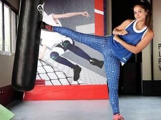Ela odiava taekwondo e foi bronze