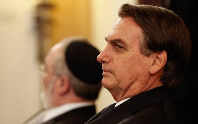 Presidente Jair Bolsonaro (PSL) disse que volta de Israel com 'dever cumprido'