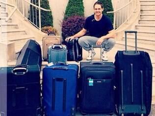 Com muitas malas na bagagem, novo gringo do Sada já está a caminho de BH