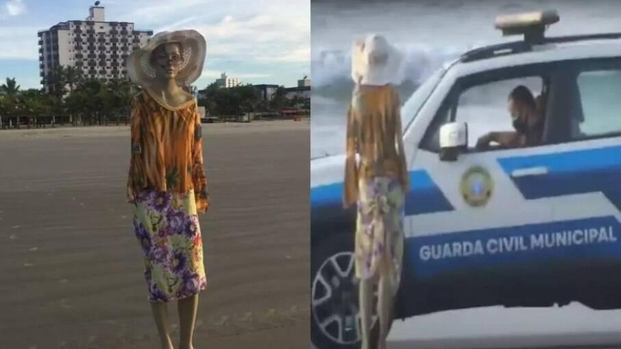 Pegadinha rendeu autuação para morador da Praia Grande