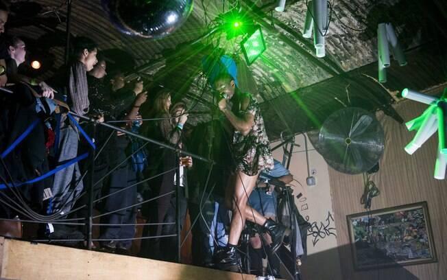 Mykki Blanco é atração da festa Queeridxs