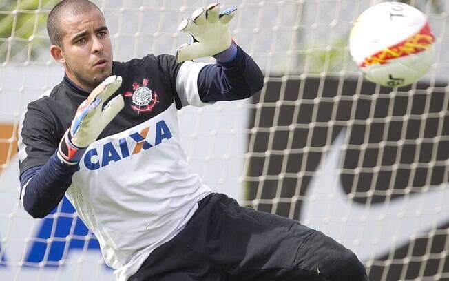 Danilo Fernandes foi goleiro do Corinthians