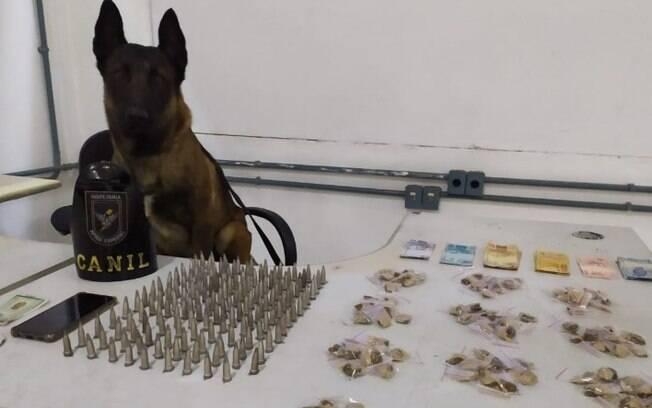 Homem é preso por tráfico de drogas no Jardim Santa Lúcia, em Campinas