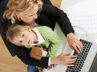 Como conciliar a rotina de trabalho com a criação dos filhos?