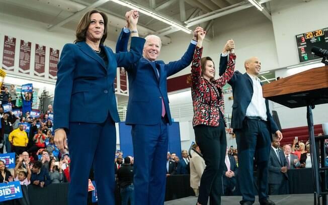 Após vitória em mais quatro primárias, Biden já falou como o candidato dos Democratas