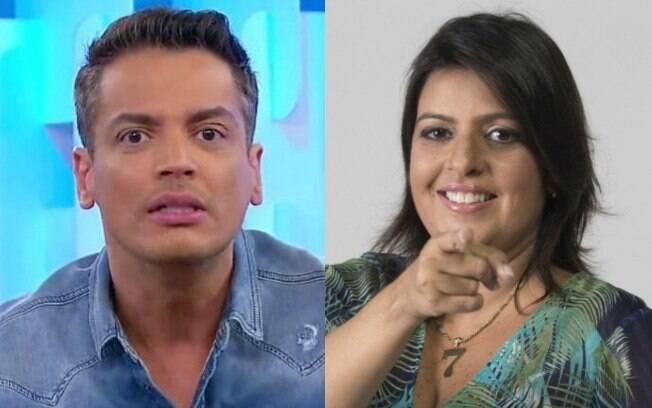 Leo Dias e Fabia Oliveira
