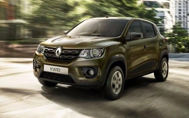 Com ares de SUV, compacto Renault Kwid terá motor 1.0 de 82 cv e virá, de série, com airbags frontais e laterais.