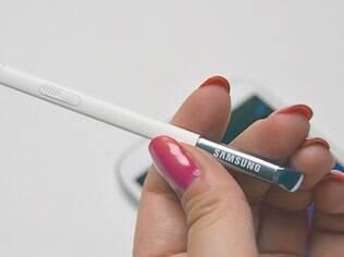 S Pen é um dos diferenciais do Galaxy Note II
