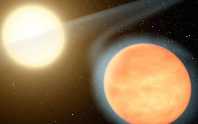 Uma das duas estrelas tem 10% mais massa que o Sol do Planeta Terra, enquanto a outra é menor e mais fria.