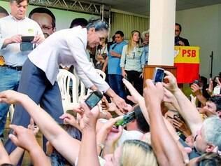 Em Campinas. Marina se reuniu ontem com lideranças do PSB na cidade paulista e prometeu aumentar os investimentos em tecnologia
