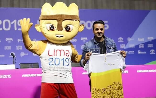 Luis Fonsi será a grande atração da Cerimônia de Abertura do Pan 2019, em Lima