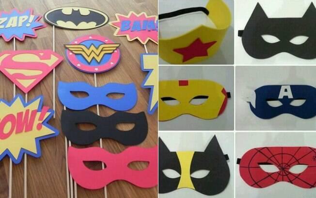 Máscaras são ótimas lembrancinhas para os convidados brincarem ainda na festa