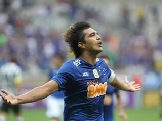 Moreno quebrou jejum e voltou a marcar gol pelo Cruzeiro