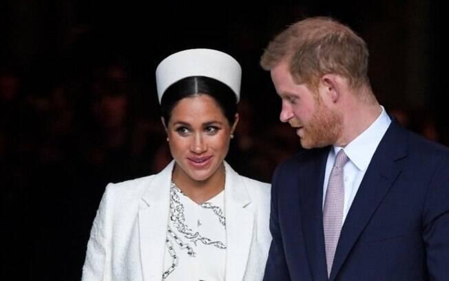 Meghan Markle e príncipe Harry
