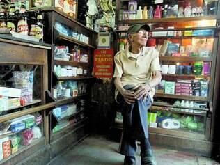 Patrimônio. Desde 1943, as portas do armazém do Zé Totó, 84, se abrem às 8h todos os dias da semana