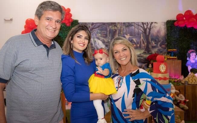 Marcelo Mourão, Natália, Helena e Vivi Romanelli