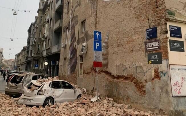 Terremoto que atingiu teve magnitude 5.3