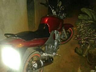 A moto usada pela dupla no dia do crime também foi localizada