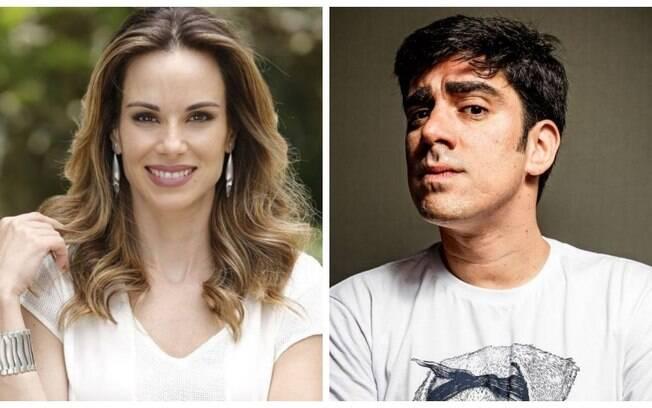 Ana Furtado e Marcelo Adnet