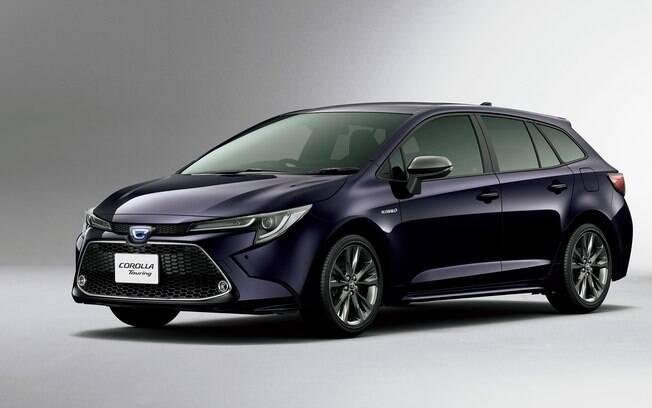 Que tal uma perua do Toyota Corolla? A bela Touring é rival da VW Golf Variant e Peugeot 508 SW