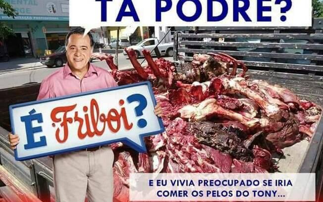 Com as hashtags #CarneFraca, #CarnePodre e #CarnePodreFriboi, internautas expressaram sua revolta após operação