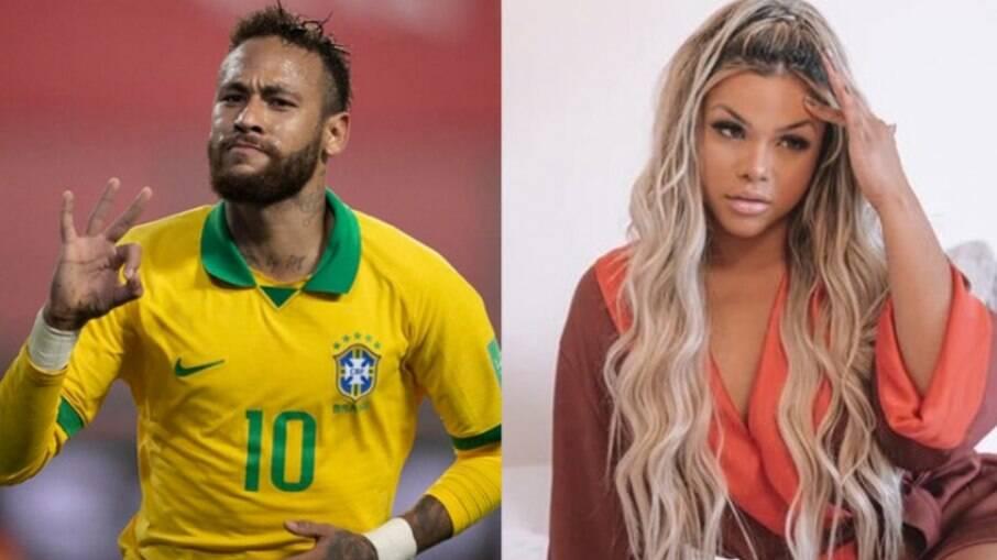 Neymar viveu affair com cantora Gabily