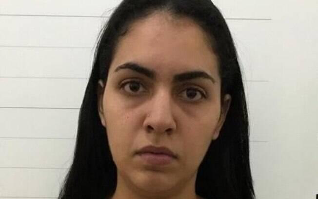 Estudante Taynã Soares foi presa acusada de liderar quadrilha que roubava celulares no MT