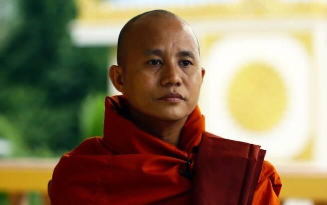 Monge Ashin Wirathu ficou conhecido como o