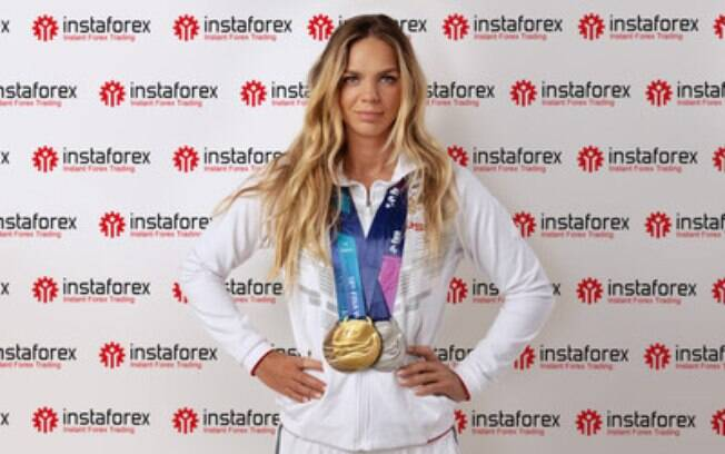 Yuliya Efimova, seis vezes campeã mundial de natação, junta-se à InstaForex pouco antes das Olimpíadas