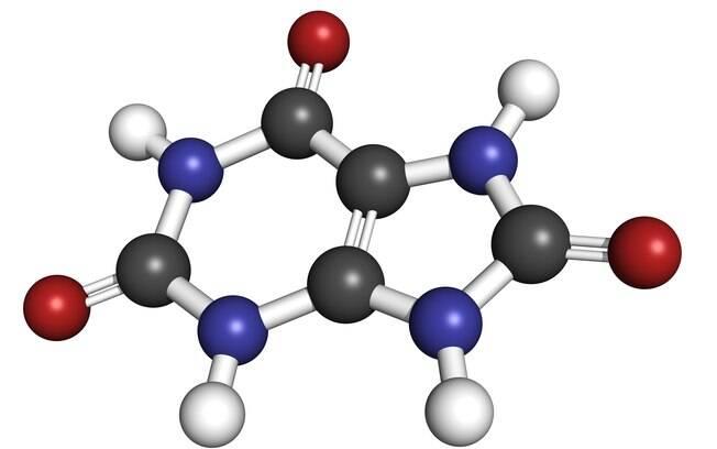 O ácido úrico é um composto orgânico  encontrado na urina e no sangue