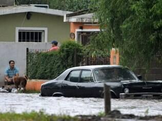 Argentina sofre com inundações