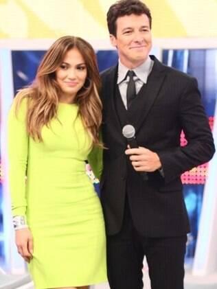 Jennifer Lopez e Rodrigo Faro
