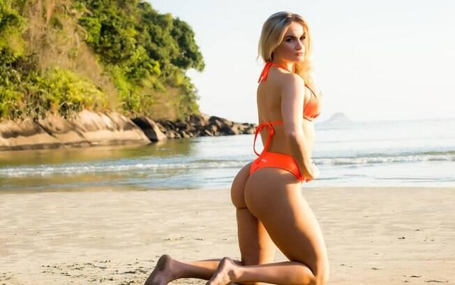 15º lugar: Luciana Beltrame - Miss Bumbum Amapá.. Foto: Divulgação