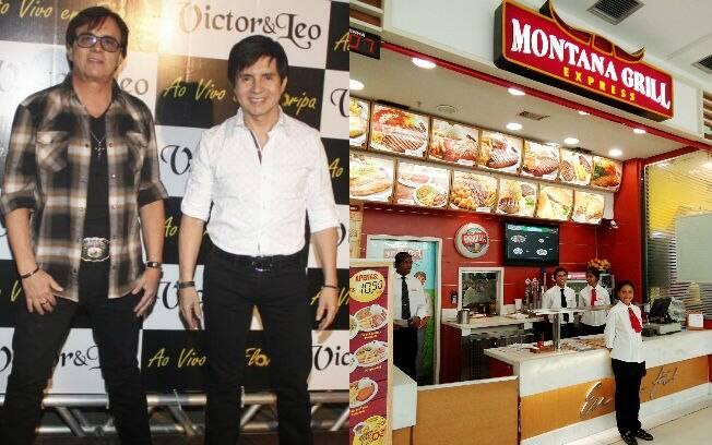 Chitãozinho e Xororó inauguraram o Montana Grill em 1994