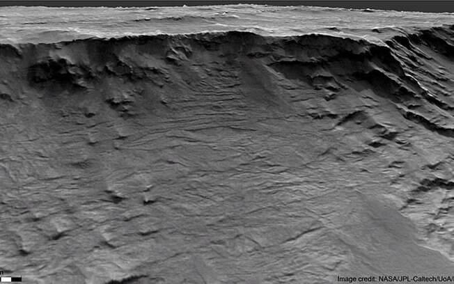 Rochas sedimentares encontradas em Marte indicam território onde corriam rios há bilhões de anos