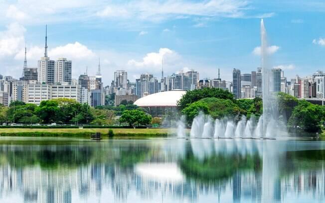 O Parque do Ibirapuera é uma das indicações de passeio para quem vai a São Paulo no feriado de 12 de outubro