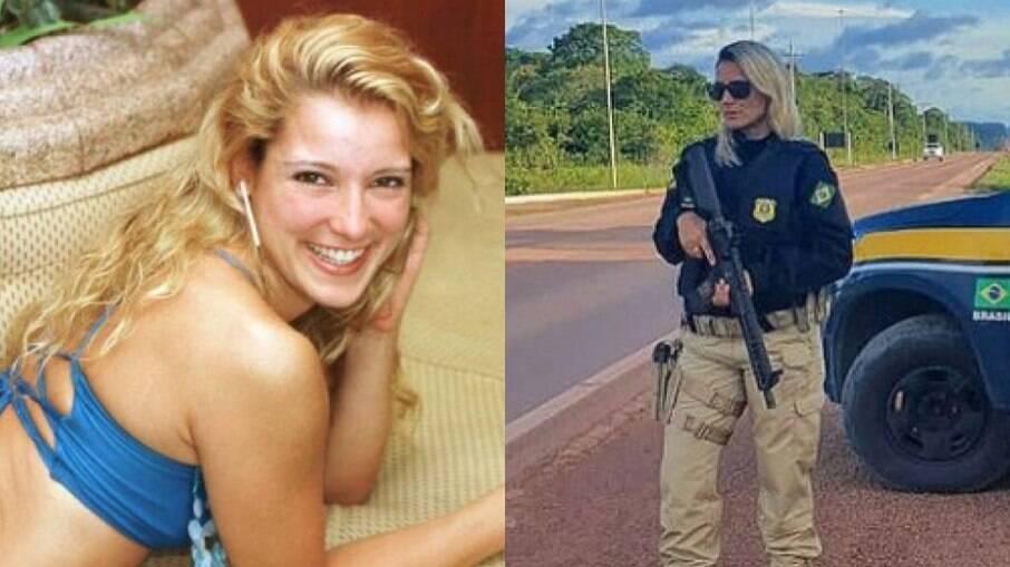 Silmara Miranda hoje é policial