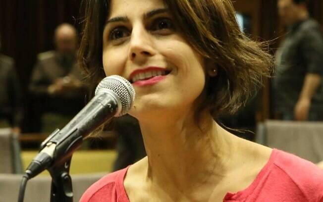 A jornalista Manuela D'Ávila é atualmente deputada estadual do Rio Grande do Sul, filiada ao PCdoB desde 2001