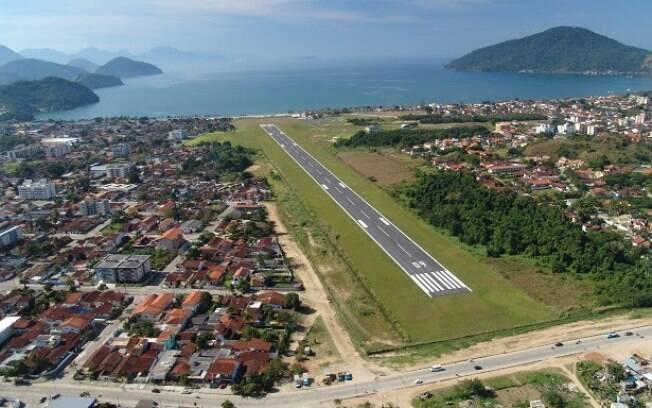 Ubatuba - Aeroporto Estadual Gastão Madeira: Infraero: todos os aeroportos que serão leiloados foram responsáveis por receitas positivas em 2015