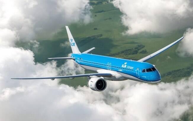 Embraer entrega primeiro jato E195-E2 para a KLM Cityhopper