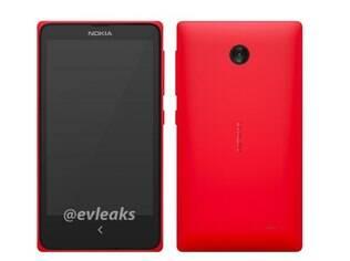 Suposta foto do Normandy, celular com Android da Nokia