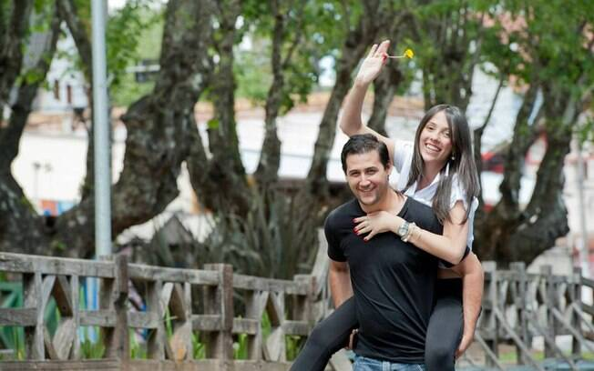 Casal Kátia Boaretto e Luciano D'Alessandro estão entre as vítimas fatais. Foto: Reprodução/Facebook