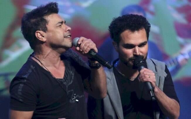 Zezé Di Camargo e Luciano homenageiam Faustão nas redes sociais