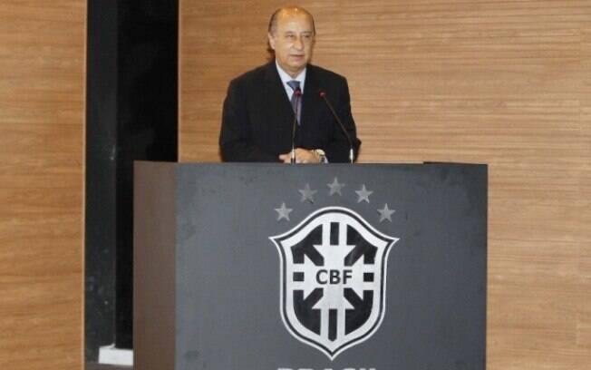 Marco Polo Del Nero assumiu a presidência da CBF em 2014