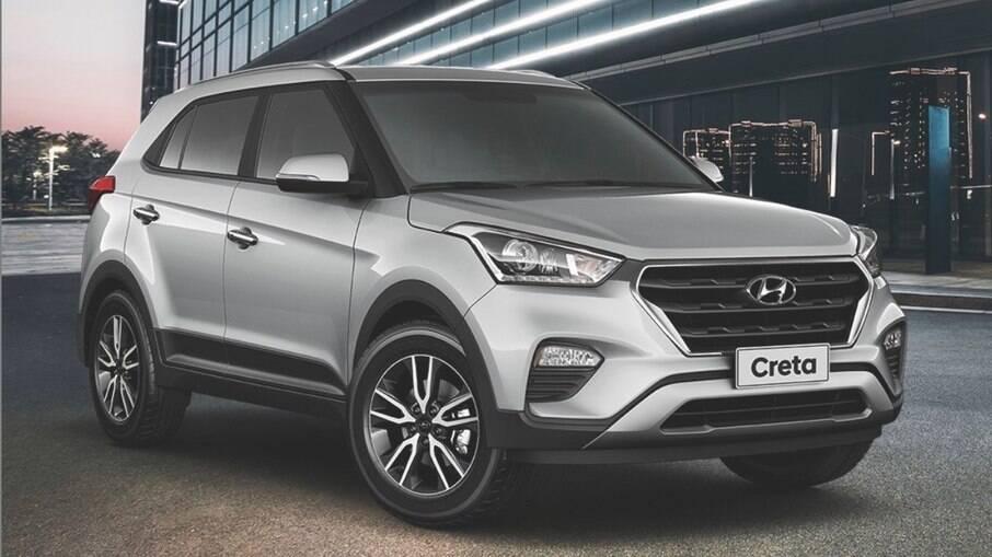 Hyundai Creta 2021:  SUV receberá mudanças no visual. Versão atual tem o bom espaço e os itens de série entre os destaques