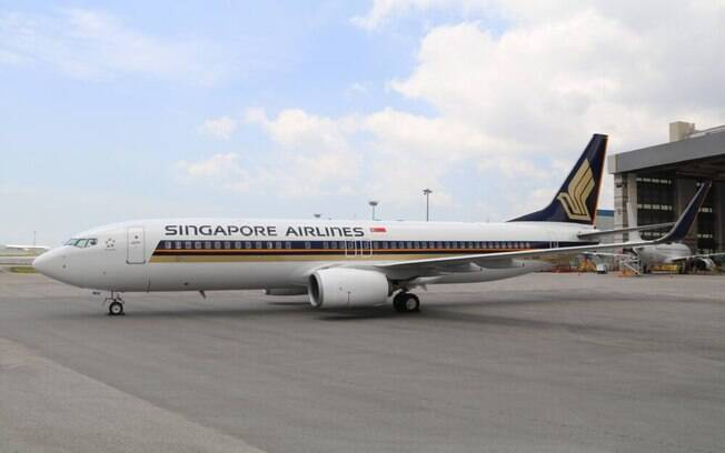Singapore Airlines iniciará operações com aeronaves Boeing 737