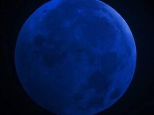 Céu deve ficar limpo durante 'Lua azul'