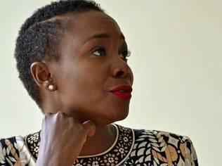 Tsakani Mashaba, fundadora da empresa Michael Makiala para Homens