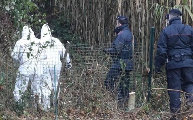Quarta mala foi encontrada em terreno perto de uma rodovia que liga Toscana a Pisa e Livorno