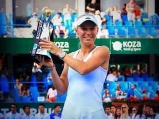 Wozniacki conquistou o 22º título da sua carreira neste domingo